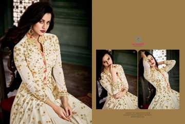 ARIHANT VIDHISHA GEORGETTE ANARKALI SUITS WHOLESALE PRICE (3) JPG