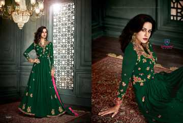 ARIHANT VIDHISHA GEORGETTE ANARKALI SUITS WHOLESALE PRICE (9) JPG