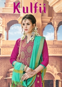 AVC KULFII BANARSI SILK SALWAR SUITS WHOLESALE PRICE (1) JPG