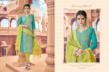 AVC KULFII BANARSI SILK SALWAR SUITS WHOLESALE PRICE (14) JPG