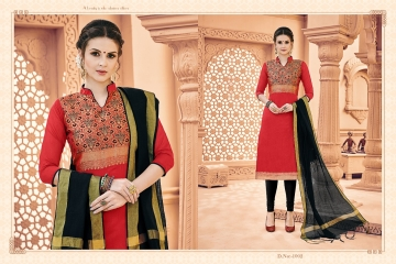AVC KULFII BANARSI SILK SALWAR SUITS WHOLESALE PRICE (2) JPG