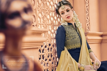 AVC KULFII BANARSI SILK SALWAR SUITS WHOLESALE PRICE (3) JPG