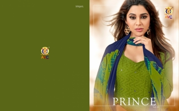 AVC PRINCE VOL-1 CAMRIC CHIKAN WORK WITH HAND WORK SALWAR SUITS WHOLESALE PRICE(01)JPG