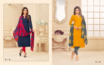 AVC PRINCE VOL-1 CAMRIC CHIKAN WORK WITH HAND WORK SALWAR SUITS WHOLESALE PRICE(11)JPG