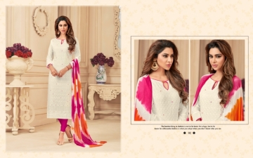 AVC PRINCE VOL-1 CAMRIC CHIKAN WORK WITH HAND WORK SALWAR SUITS WHOLESALE PRICE(10)JPG