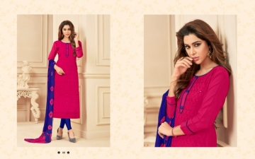 AVC PRINCE VOL-1 CAMRIC CHIKAN WORK WITH HAND WORK SALWAR SUITS WHOLESALE PRICE(2)JPG