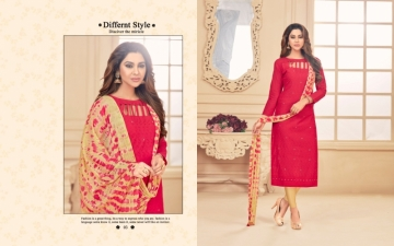 AVC PRINCE VOL-1 CAMRIC CHIKAN WORK WITH HAND WORK SALWAR SUITS WHOLESALE PRICE(5)JPG