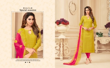 AVC PRINCE VOL-1 CAMRIC CHIKAN WORK WITH HAND WORK SALWAR SUITS WHOLESALE PRICE(8)JPG