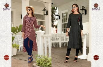 BAANVI FIREFOX VOL 2 LAWN COTTON PRINTED KURTI WHOLEALE PRICE (4) JPG