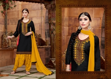 BAANVI MASTANI PATIYALA  GLACE COTTON WITH EMBROIDERED WORK SUITS WHOLESALER(10)JPG