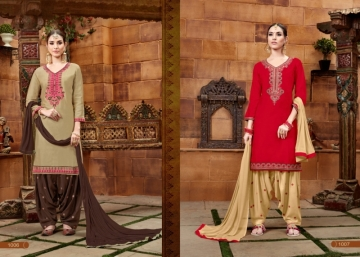 BAANVI MASTANI PATIYALA  GLACE COTTON WITH EMBROIDERED WORK SUITS WHOLESALER(11)JPG