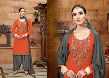BAANVI MASTANI PATIYALA  GLACE COTTON WITH EMBROIDERED WORK SUITS WHOLESALER(3)JPG