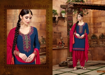 BAANVI MASTANI PATIYALA  GLACE COTTON WITH EMBROIDERED WORK SUITS WHOLESALER(6)JPG
