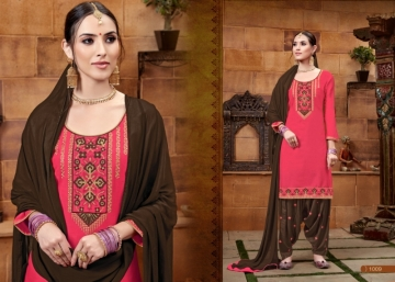BAANVI MASTANI PATIYALA  GLACE COTTON WITH EMBROIDERED WORK SUITS WHOLESALER(9)JPG