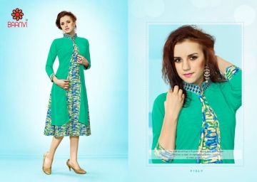 BAANVI NAAZ GEORGETTE KURTIS WHOLESALE PRICE (9) JPG