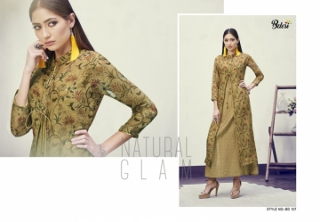 BDESI BLITZ FLORAL PRINTED DOUBLE LAYER KURTIS WHOLESALE PRICE(11)JPG