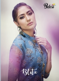 BDESI BLITZ FLORAL PRINTED DOUBLE LAYER KURTIS WHOLESALE PRICE(13)JPG