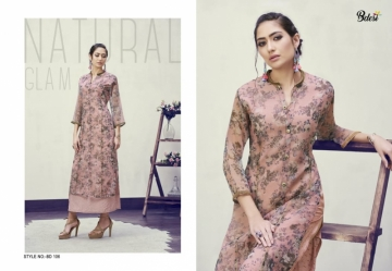 BDESI BLITZ FLORAL PRINTED DOUBLE LAYER KURTIS WHOLESALE PRICE(1)JPG