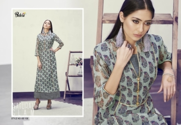 BDESI BLITZ FLORAL PRINTED DOUBLE LAYER KURTIS WHOLESALE PRICE(2)JPG