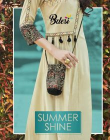 BDESI SUMMER SHINE COTTON KURTIS WHOLESALE PRICE (1) JPG