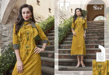 BDESI SUMMER SHINE COTTON KURTIS WHOLESALE PRICE (2) JPG