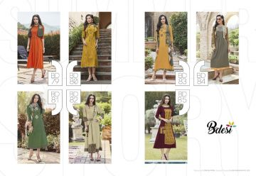 BDESI SUMMER SHINE COTTON KURTIS WHOLESALE PRICE (9) JPG
