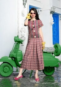 DHANYAWAD PRITO ROSE SATIN SLUB DIGITAL PRINTED KURTIS WHOLESALE PRICE(11)JPG