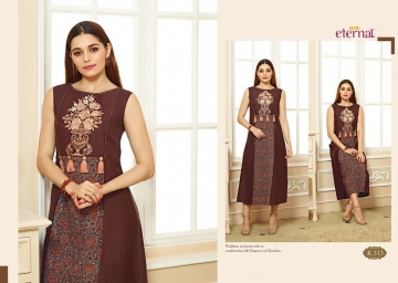 ETERNAL ARTERY VOL-2 COTTON LONG KURTIS WHOLESALE PRICE (14) JPG