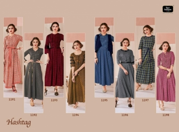 Four-Buttons-Hashtag-Pure-Cotton-Ankle-Length-Gown-Style-Kurti-Collection-10
