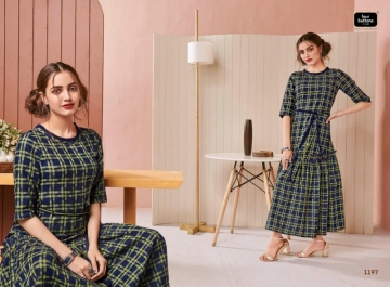 Four-Buttons-Hashtag-Pure-Cotton-Ankle-Length-Gown-Style-Kurti-Collection-12