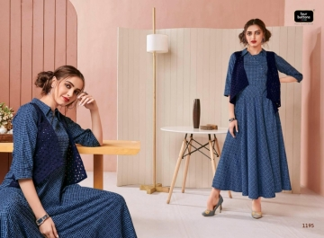 Four-Buttons-Hashtag-Pure-Cotton-Ankle-Length-Gown-Style-Kurti-Collection-8