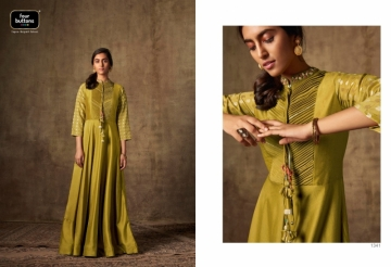 FOUR BUTTONS PRESENTS IMRIT SILK EMBROIDERY PARTY WEAR GOWNS (8) JPG