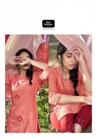 FOUR-BUTTONS-PRESENTS-PEACH-PURE-WEAVING-COTTON-KURTI-WITH-PANT-14-JPG