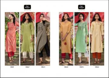 FOUR-BUTTONS-PRESENTS-PEACH-PURE-WEAVING-COTTON-KURTI-WITH-PANT-2-JPG