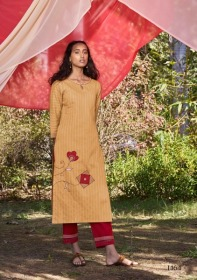 FOUR-BUTTONS-PRESENTS-PEACH-PURE-WEAVING-COTTON-KURTI-WITH-PANT-6-JPG