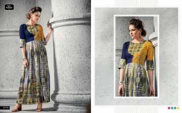 FOUR BUTTONS SHADES VOL 2 COTTON SILK DIGITAL PRINTED KURTIS WHOLESALE SUPPLIER SURAT (7) JPG