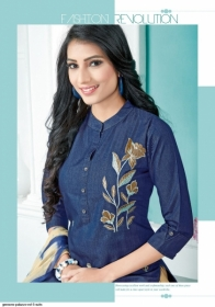 GEESONS PALAZZO VOL-5 PURE DENIM EMBROIDERY SUITS WITH DUPATTA (10) JPG