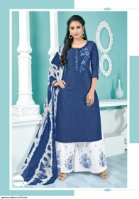 GEESONS PALAZZO VOL-5 PURE DENIM EMBROIDERY SUITS WITH DUPATTA (2) JPG