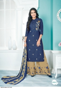 GEESONS PALAZZO VOL-5 PURE DENIM EMBROIDERY SUITS WITH DUPATTA (4) JPG