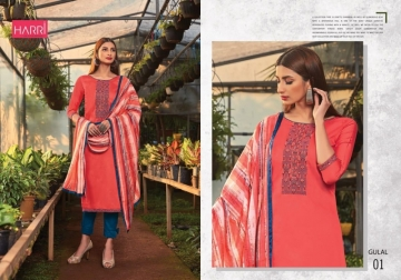 Gulal Harri Suits Manufacturer 10 Pcs Catalog (11)