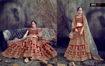 HOTLADY SUHAANI VELVET SILK BRIDAL LEHENGA WEDDING LEHENGA COLLECTION WHOLESALE PRICE (11)JPG