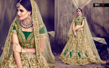 HOTLADY SUHAANI VELVET SILK BRIDAL LEHENGA WEDDING LEHENGA COLLECTION WHOLESALE PRICE (7)JPG
