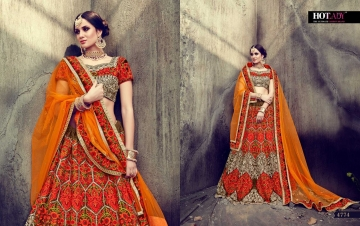 HOTLADY SUHAANI VELVET SILK BRIDAL LEHENGA WEDDING LEHENGA COLLECTION WHOLESALE PRICE (8)JPG