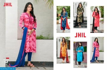 JHIL LOOKWELL MATERIAL SUITS WHOLESALE PRICE (3) JPG