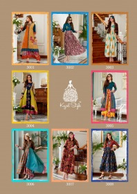 KAJAL STYLE FASHION DIVA VOL 3 DESIGNER LONG KURTIS WHOLESALE PRICE (4) JPG