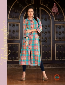 KAJAL STYLE FASHION ETERNAL VOL 2 RAYON PRINTED KURTIS WHOLESALE PRICE(4)JPG