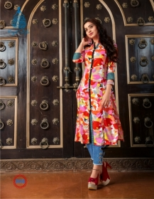 KAJAL STYLE FASHION ETERNAL VOL 2 RAYON PRINTED KURTIS WHOLESALE PRICE(5)JPG