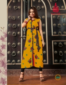 KAJAL STYLE FASHION ETERNAL VOL 2 RAYON PRINTED KURTIS WHOLESALE PRICE(7)JPG
