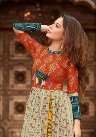 KAJAL STYLE MUMTAJ VOL 3 HEAVY LOAN COTTON ORDINARY PRINTED KURTIS WHOLESALE PRICE(6)JPG