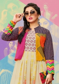 KAJAL STYLE MUMTAJ VOL 3 HEAVY LOAN COTTON ORDINARY PRINTED KURTIS WHOLESALE PRICE(7)JPG